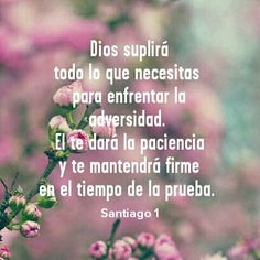 Dios siempre responde Faith Quotes, Bible Quotes, Bible Verses, Happy Wishes, Healing Words, God Loves You, Spiritual Wisdom, Gods Promises, Quotes About God