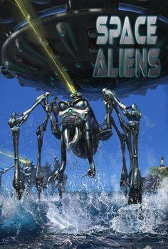 #Space Aliens #4d attraction film