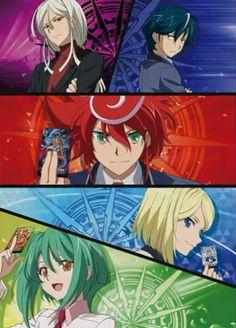 Vanguard G Next At Gogoanime Cardfight Anime Shows Noragami