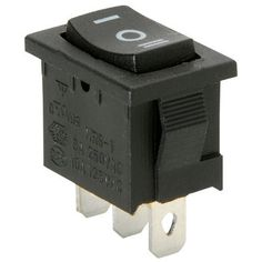 Parts Express SPDT Miniature Momentary Rocker Switch Center Off, Model: , Car & Vehicle Accessories / Parts. Miniature rocker switch. Specifications: • Current rating: 10A @ 125 VAC, 6A @ 250 VAC • Housing dimensions: 18.4 mm L x 12.9 mm W x 13.8 mm D • Contacts: 3 • Approval: UL.