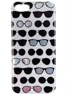 Sunglasses iPhone 5 Case - Tech