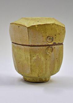 Warren MacKenzie, Yellow Box. Courtesy of Trax Ceramic Gallery