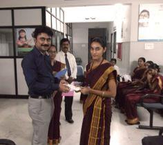 Lotus Employee Of The Month Award Branch : Peelamedu Department : Cash Month : Sep-2013 Name : Miss V.N.Karthika Devi