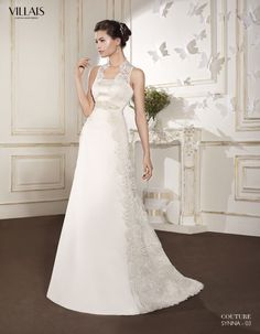 SYNNA | Wedding Dress | 2015 Couture Collection | by Sara Villaverde | Villais