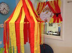 Afbeeldingsresultaat voor thema circus knutselen