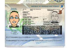 Trinidad and Tobago passport template Passport Template, Psd Templates, Trinidad And Tobago, Photoshop, Comics, Cartoons, Comic, Comics And Cartoons, Comic Books