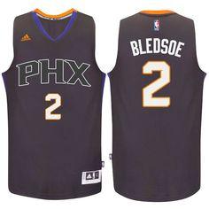 suns #2 eric bledsoe 2016 swingman alternate black purple jersey