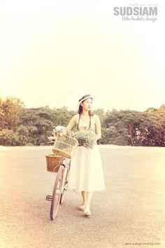 The Basket Bike Girl® : Fotografia