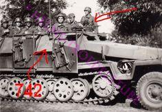 Sdkfz 251/ II, ausf. C. Mittlere schützenpanzerwagen with Wurfrahmen 40, and Schwere MG 34 Lafayette.