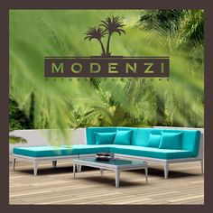 NEW! All Weather Modern Outdoor PE Wicker Sofa Patio Furniture Set Couch Chairs #MODENZI