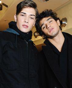 Marlon Teixeira & Francisco Lachowski #future husbands # friendship