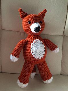 Fox Amigurumi Design pattern by Olena Huffmire