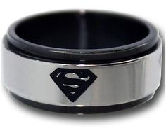 I want to get this for Micheal!  Wonder if there is a BATMAN ring?? I'll have to check!  Superman ring = want $35