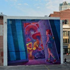 While we last heard from her in New Zealand a few weeks ago, Natalia Rak is currently in Providence, Rhode Island where she just finished working on yet another massive piece.