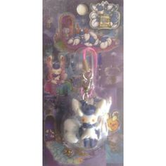 Pokemon Center 2014 Espurr Wanted Campaign Meowstic (Female) Mobile Phone Charm Strap