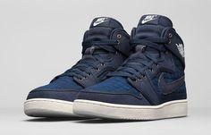 "Air Jordan 1 Retro KO ""Navy/Sail"" - EU Kicks: Sneaker Magazine"