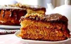 Медовый бисквит — это уникальная комбинация простоты приготовления, доступности ингредиентов и вкусности результата. Hungarian Cake, Honey Cake, Russian Recipes, Kefir, Banana Bread, French Toast, Bakery, Deserts, Cooking Recipes
