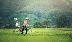😲 Friends Sitting on Bicycle Against Green Landscape - new photo at Avopix.com    🆗 https://avopix.com/photo/60381-friends-sitting-on-bicycle-against-green-landscape    #bicycle #cyclist #mountain bike #bike #wheeled vehicle #avopix #free #photos #public #domain