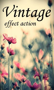 Vintage Effect Action  by ~Irridian