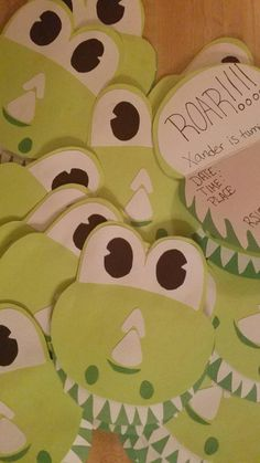 Get ready to roar! These cute little dinosaur invitations are perfect for your little cuties birthday! I can leave them blank or personalize them for you