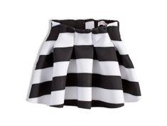 pruhovaná sukně pro holky