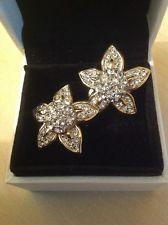 Attwood & Sawyer Swarovski Crystal Clip On Earrings