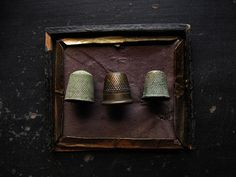 Thimbles. Who ever thought they could be so rich ???