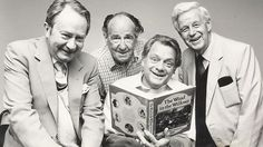 The Wind in the Willows cast L-R: Peter Sallis, the late Sir Michael Horden, David Jason and Richard Pearson © FremantleMedia