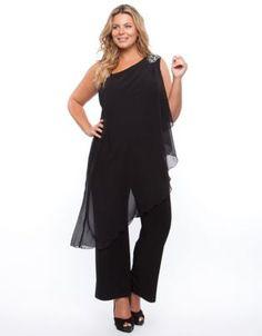 Flirt - Chiffon Jumpsuit - Jumpsuits & Playsuits (Black)