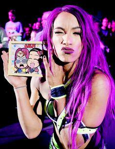 she loves her fan art Best Wwe Wrestlers, Black Wrestlers, Wrestling Divas, Women's Wrestling, Gorgeous Ladies Of Wrestling, Mercedes Kaestner Varnado, Wwe Sasha Banks, Paige Wwe, Wwe Girls
