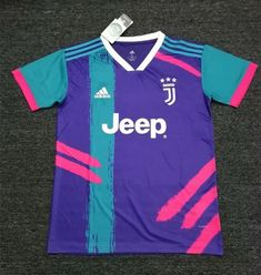 topjersey provides cheap and quality Juventus Purple Thailand Soccer Training Jersey with the information of price, image, size, style and others, easy for you to buy! Team Uniforms, Basketball Uniforms, Soccer Jerseys, Juventus Soccer, Sports Jersey Design, Football Jackets, Uniform Design, Football Kits, Soccer Training
