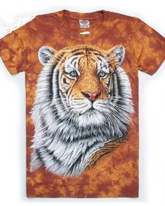 This T-shirt is vivid Creative Vivid Tiger T-shirt. The T-shirt can bring you different dynamic visual feeling.The material of this T-shirt is very comfortable and soft. Tiger T-shirt, 3d Fashion, 3d T Shirts, Creative, Clemson, Animals, Google Search, Animales, Animaux