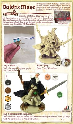 The Army Painter deliver products to help you paint models and miniatures quickly and to a stunning level with minimum effort. Zombicide Black Plague, Mini Paintings, Paint Set, Fantastic Art, Miniture Things, Painting Tutorials, Dungeons And Dragons, Tabletop, Board Games