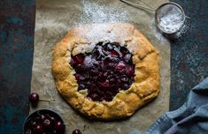 Our easy to make Stork Cherry and Plum Galette, it will satisfy your sweet and tart cravings. Chocolate Ganache Tart, Decadent Chocolate, Baking Tips, Baking Recipes, Stork Recipes, Yummy Snacks, Yummy Food, Sweet Pastries