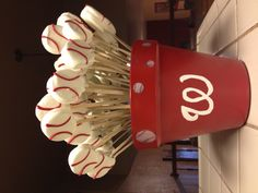 Oreo cookie pops for my sons t-ball party