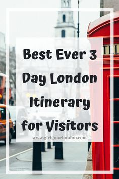 In this 3 day London itinerary, I'm going to unpack the best things to do to maximize your time, experience classic British cuisine, get memorable family photos, and really feel like you've seen the city. Travel Guides, Travel Tips, Best Countries In Europe, London With Kids, London Night, London Attractions, Things To Do In London, Beautiful Places To Visit, London Travel