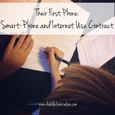 What are your family rules for internet and smart-phone usage?
