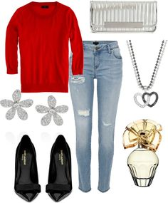"""BRITTNEY"" by karinanaum ❤ liked on Polyvore"