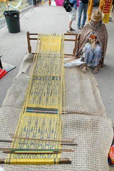 Iban Weaver Santa Fe by Teyacapan, via Flickr