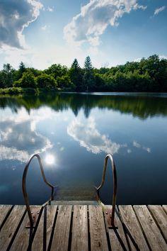 Cool Summer Redux   lake   jumping   rope swing   sunset   @Valerie Avlo Uhlir   perfect summer   ideal day   kids fun   life is good  