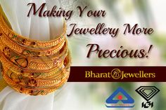 Bharat Jewellers Offer Hallmark Gold Bangles! Stunning Collection! Amazing Jewellery! Click to known more!