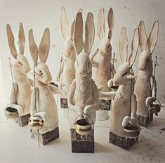 Halloween Hares by Mr Finch