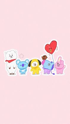 BTS wallpapers for iPhone Gfriend And Bts, K Wallpaper, Wallpaper Keren, Bts Backgrounds, Bts Drawings, Bts Chibi, Line Friends, Bts Lockscreen, Bts Wallpaper Iphone Taehyung