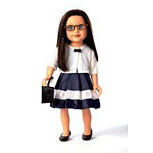 "Journey Girls 18 inch London Doll - Dana (Navy Dress and White Cardigan) - Toys R Us - Toys ""R"" Us"