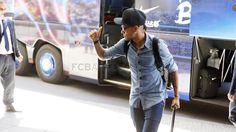 Neymar Jr. #FCBarcelona #Neymar #FansFCB #Football #FCB #11 Barcelona Website, Fc Barcelona, Neymar Jr, Soccer Players, World Cup, My Hero, Football, Idol, Lovers