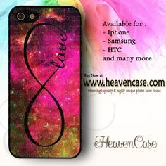 Infinity Love Nebula Pink available For Iphone 4/4s/5/5s/5c case , Samsung Galaxy S3/S4/S5/S3 mini/S4 Mini/Note 2/Note 3 case , HTC One X , HTC One M7 case , HTC One M8 case and many more , check our website www.heavencase.com