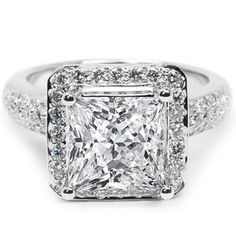 4.02 Karat Diamantring aus 750er Weißgold. Ein Diamantring von www.juwelierhausabt.de
