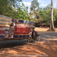 What can you pull with your bike? Angkor Wat, Siem Reap, Cambodia. www.antonswanepoelbooks.com