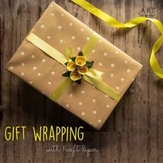 Gift wrapping doesn't have to be difficult anymore! - Gifts box ideas, Gifts for teens,Gifts for boyfriend, Gifts packaging Paper Packaging, Gift Packaging, Cute Gift Wrapping Ideas, Art All The Way, Cd Crafts, Gift Bows, Butterfly Crafts, Diy Bow, Paper Flowers Diy