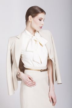 ENNBOW business wear & dresscode Business Wear, Ss 15, Dress Codes, Blouse, Long Sleeve, Sleeves, How To Wear, Tops, Dresses